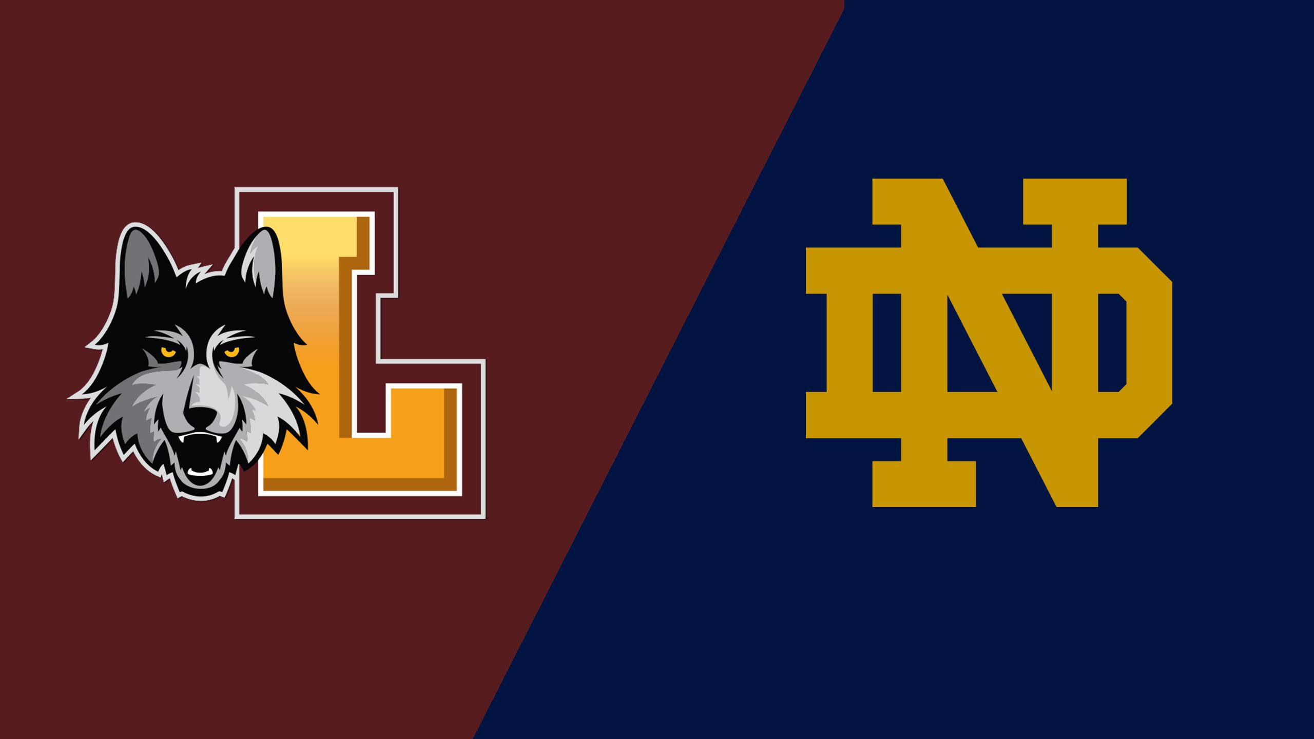 Loyola vs. #14 Notre Dame (W Soccer)