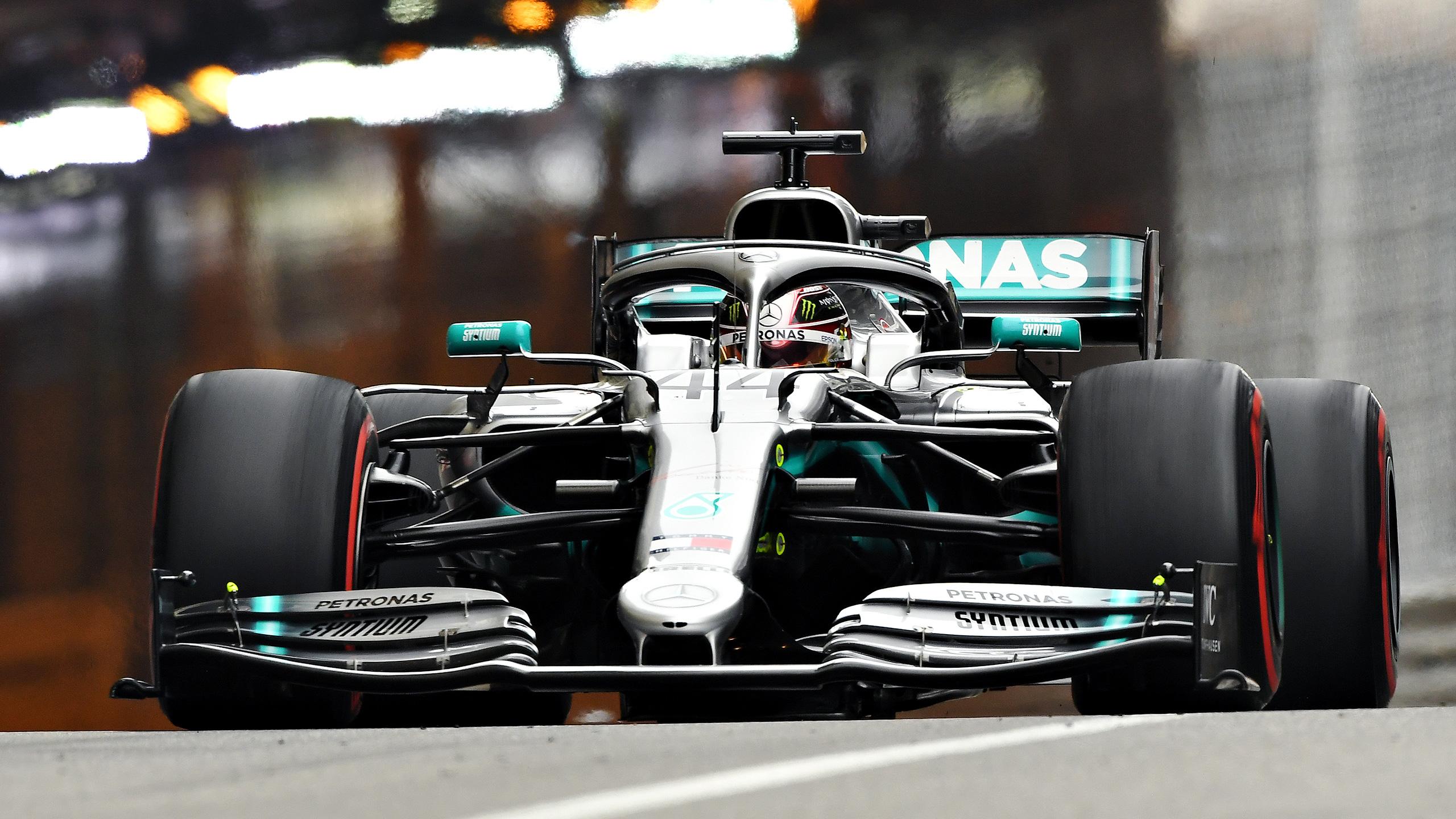 Formula 1 Monaco Grand Prix Practice 1