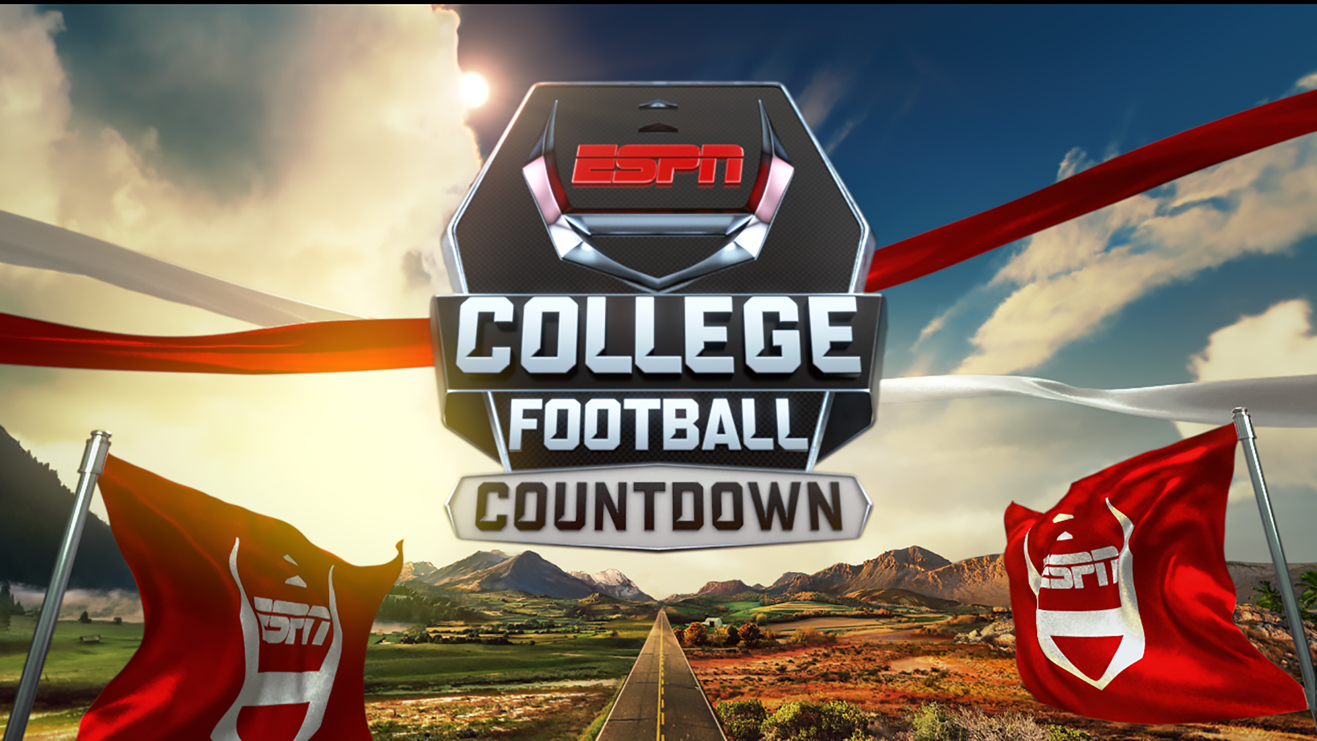 Thu, 11/15 - College Football Countdown Delivered by Papa John's