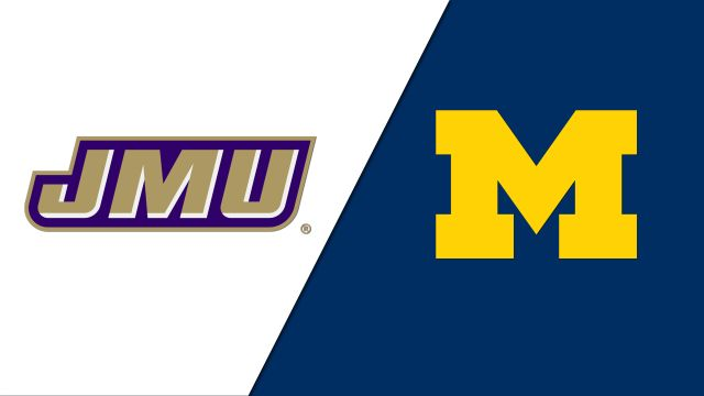 James Madison vs. Michigan (Site 7 / Game 7 (If Necessary))