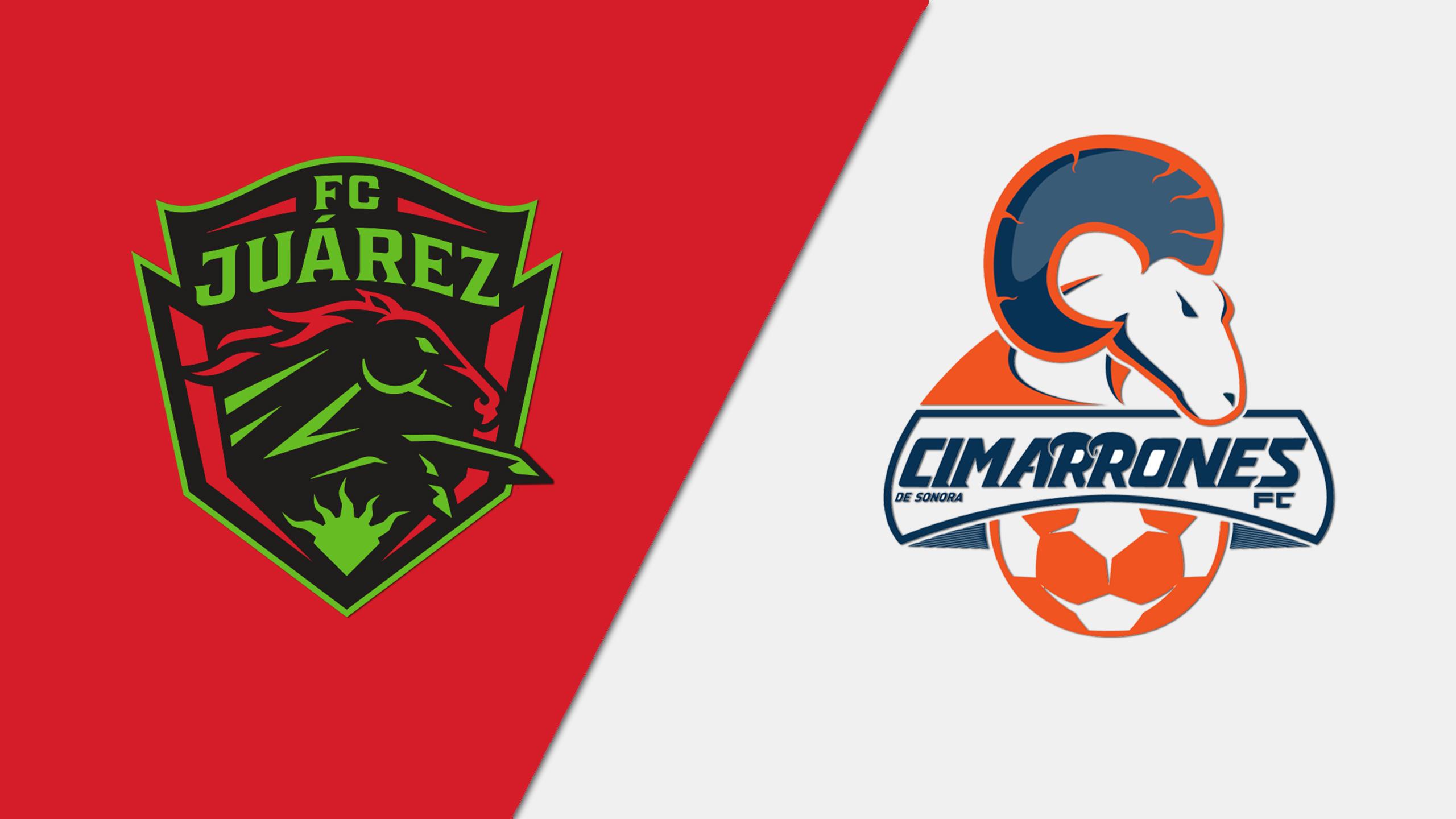 In Spanish - FC Juárez vs. Cimarrones de Sonora (Jornada 12)
