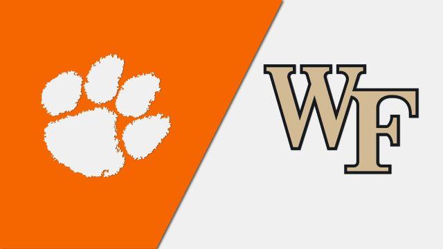 Clemson vs. Wake Forest (M Soccer)