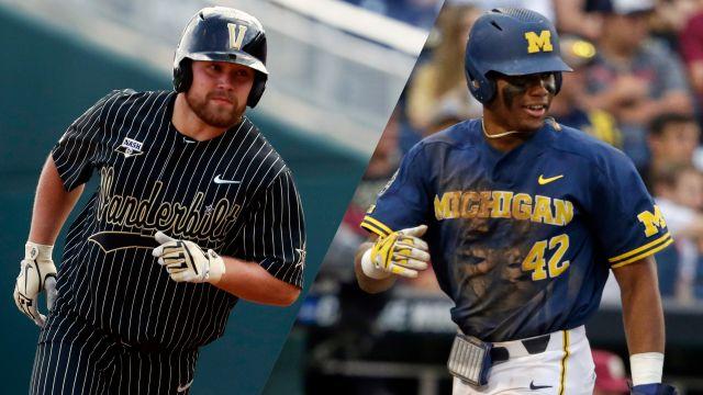 #2 Vanderbilt vs. Michigan (CWS Finals Game 2) (College World Series)