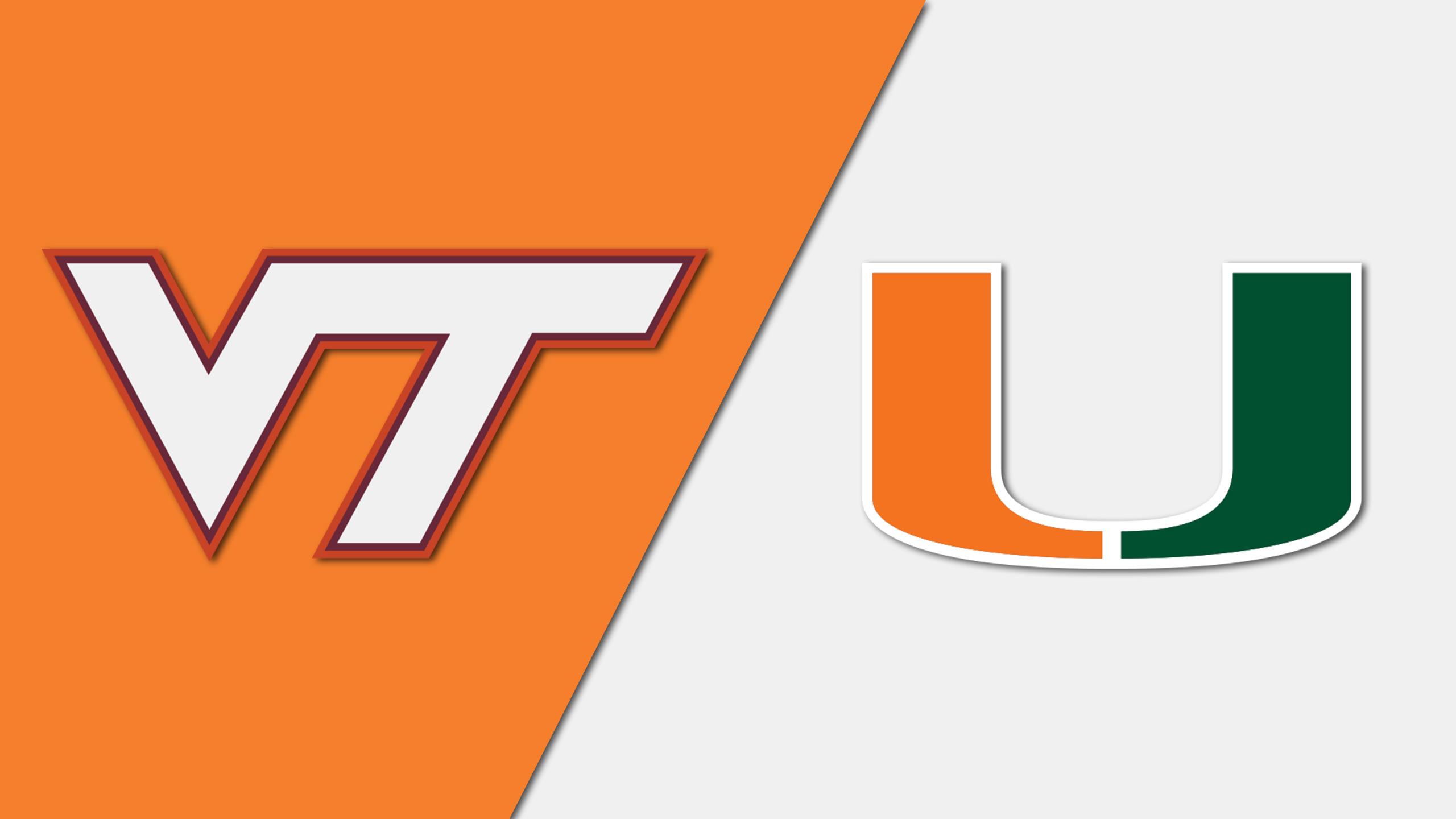 Virginia Tech vs. Miami (W Soccer)