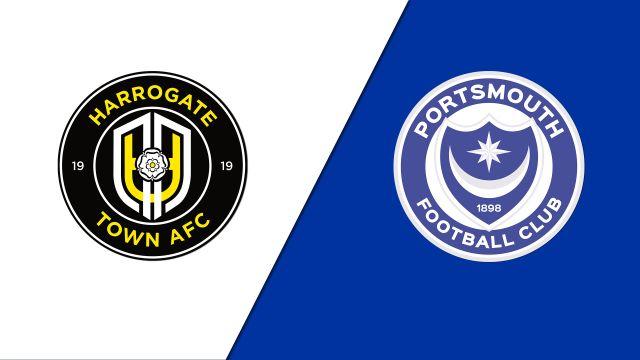 Harrogate Town F.C. vs. Portsmouth (Round 1)