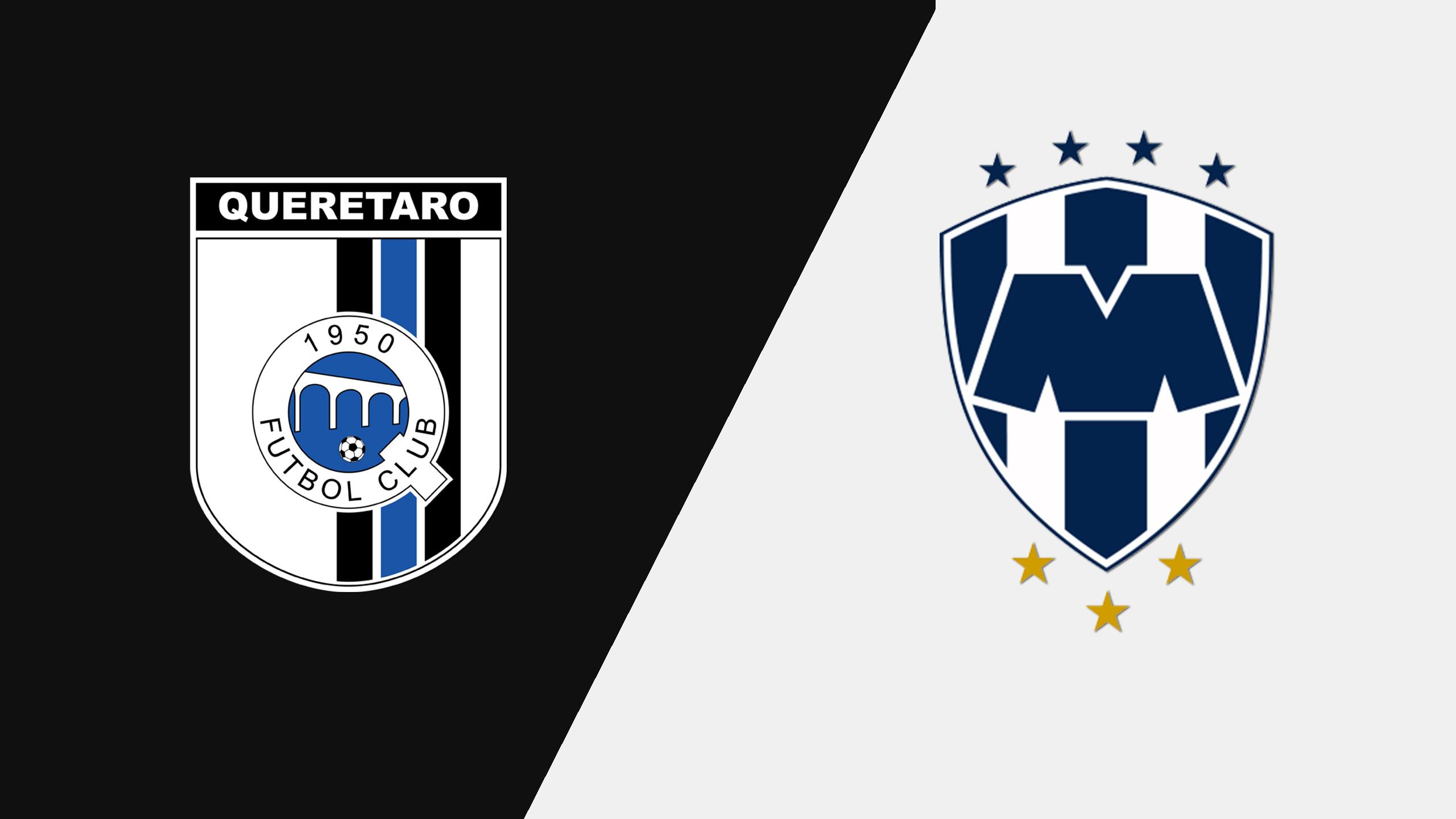 In Spanish - Gallos Blancos de Querétaro vs. Rayados Monterrey (Jornada 3) (Liga MX)