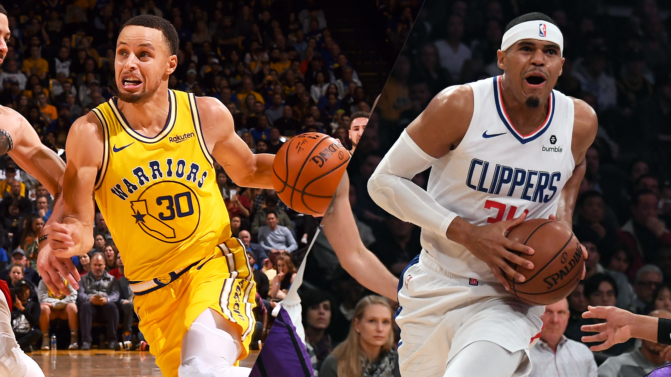 Golden State Warriors vs. LA Clippers (re-air)