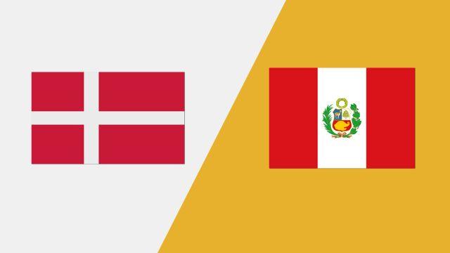 Denmark vs. Peru