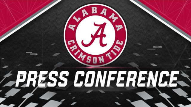 Alabama Football Press Conference