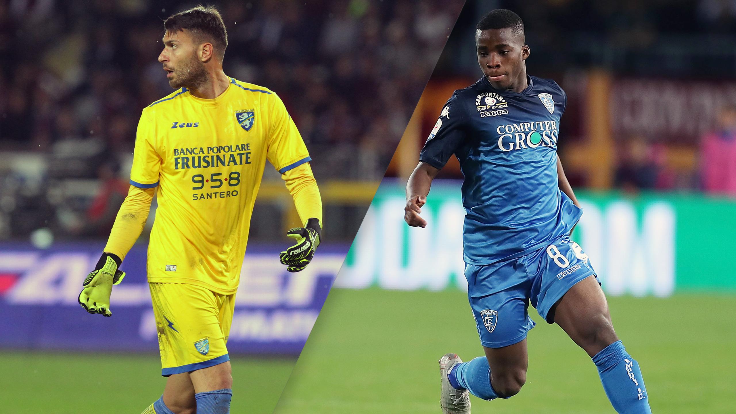 Frosinone vs. Empoli (Serie A)