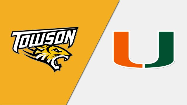 Towson vs. #7 Miami (Baseball)