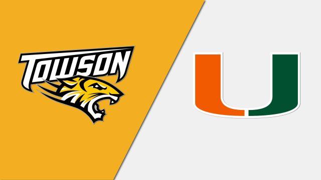 Towson vs. #7 Miami (Baseball)