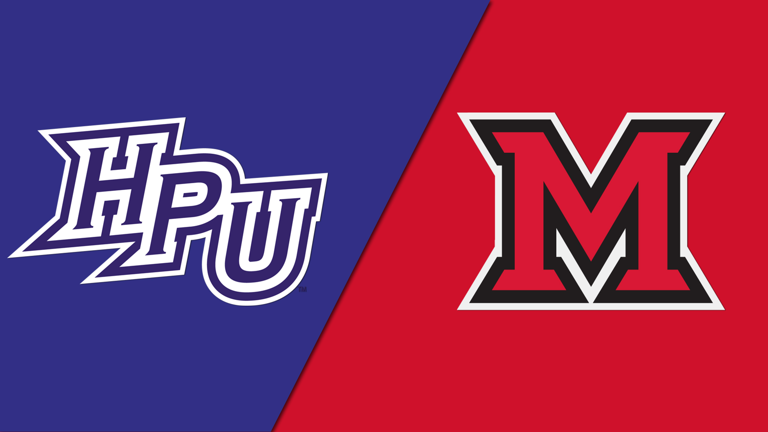 High Point vs. Miami (OH) (W Basketball)