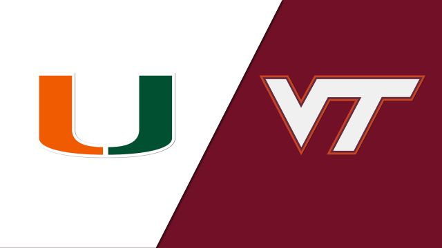 Miami vs. #18 Virginia Tech (W Soccer)
