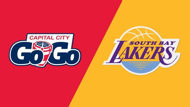 Capital City Go-Go vs. South Bay Lakers