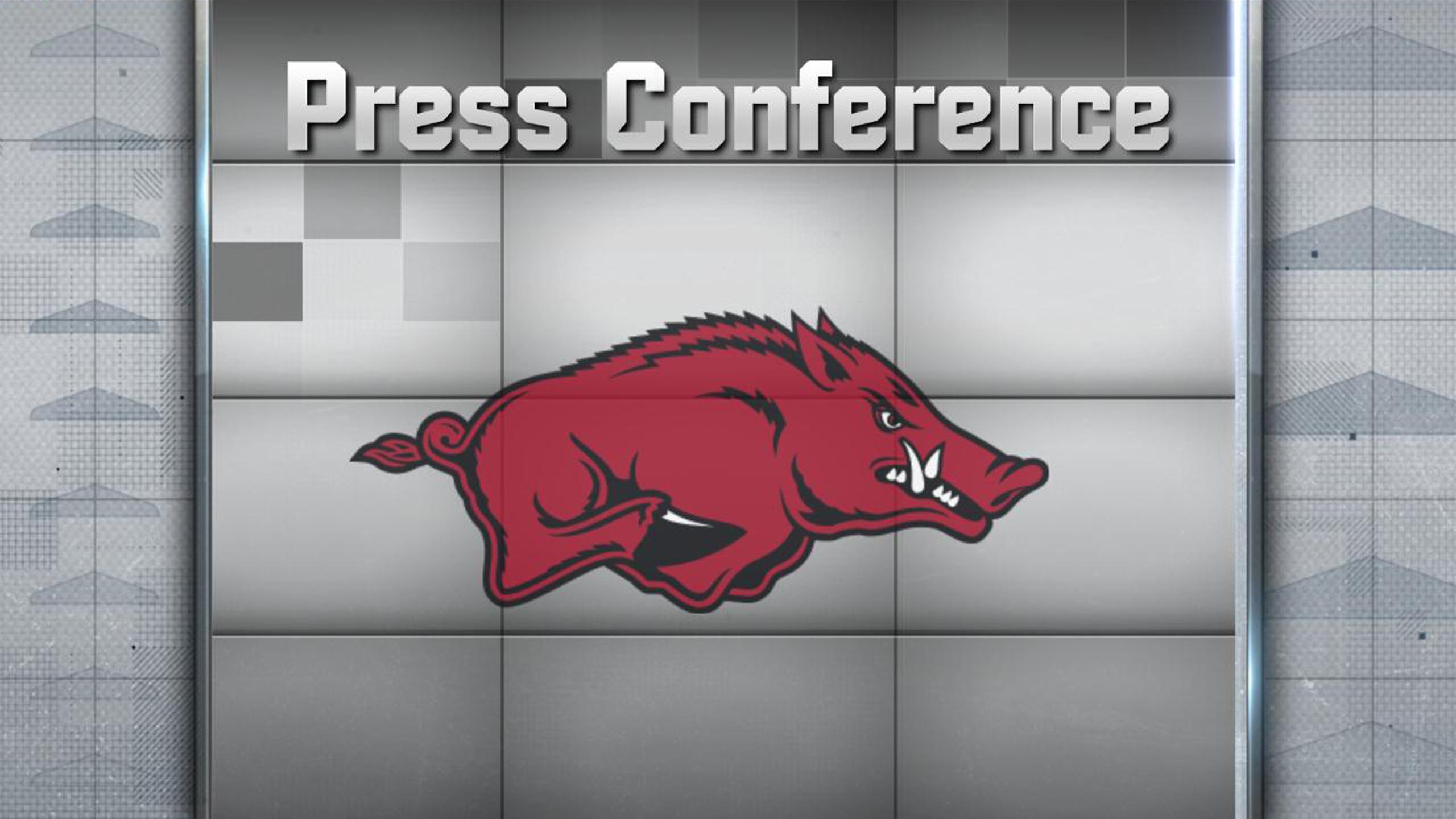 Arkansas Football Press Conference