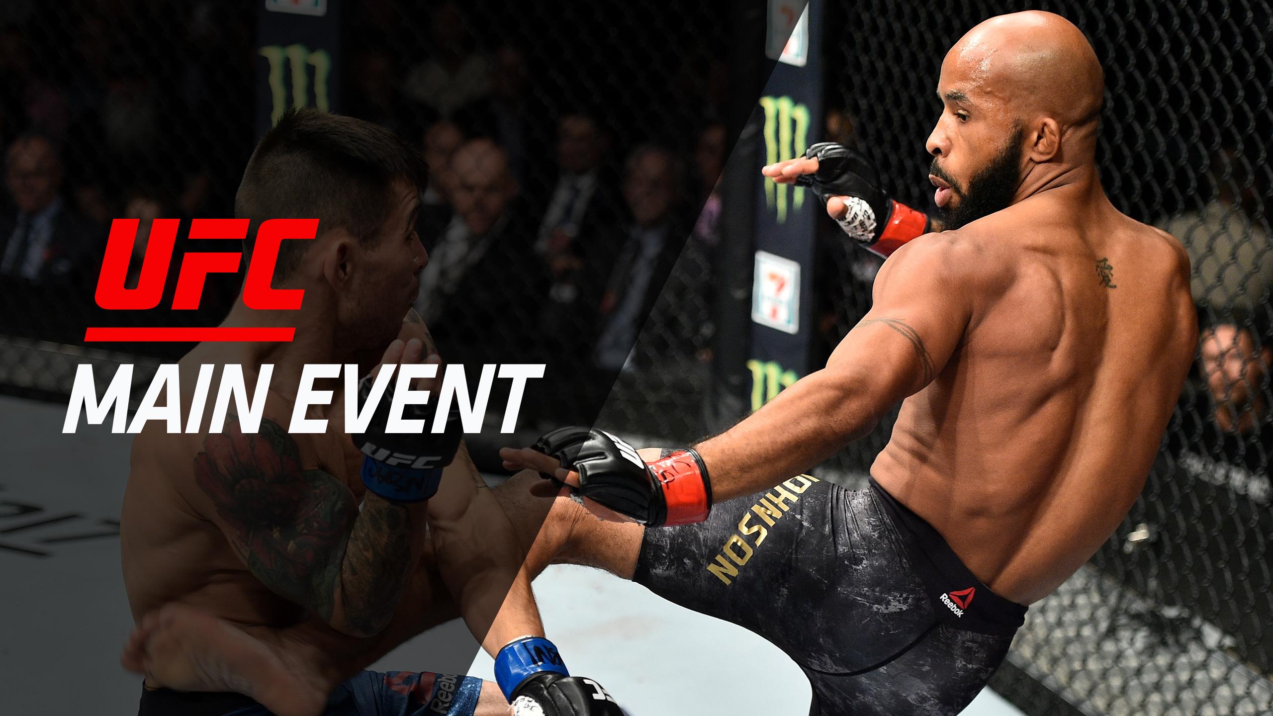 UFC Main Event: Johnson vs. Borg