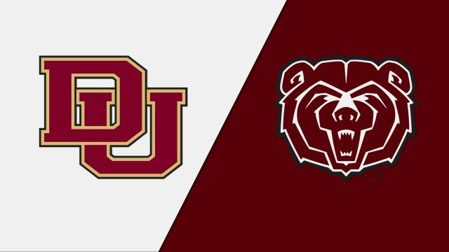 Denver vs. Missouri State (First Round) (NCAA Men's Soccer Championship)