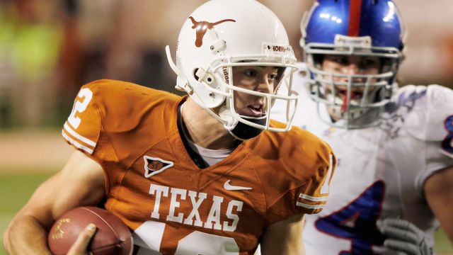 Kansas Jayhawks vs. Texas Longhorns (ESPN Classic Football)