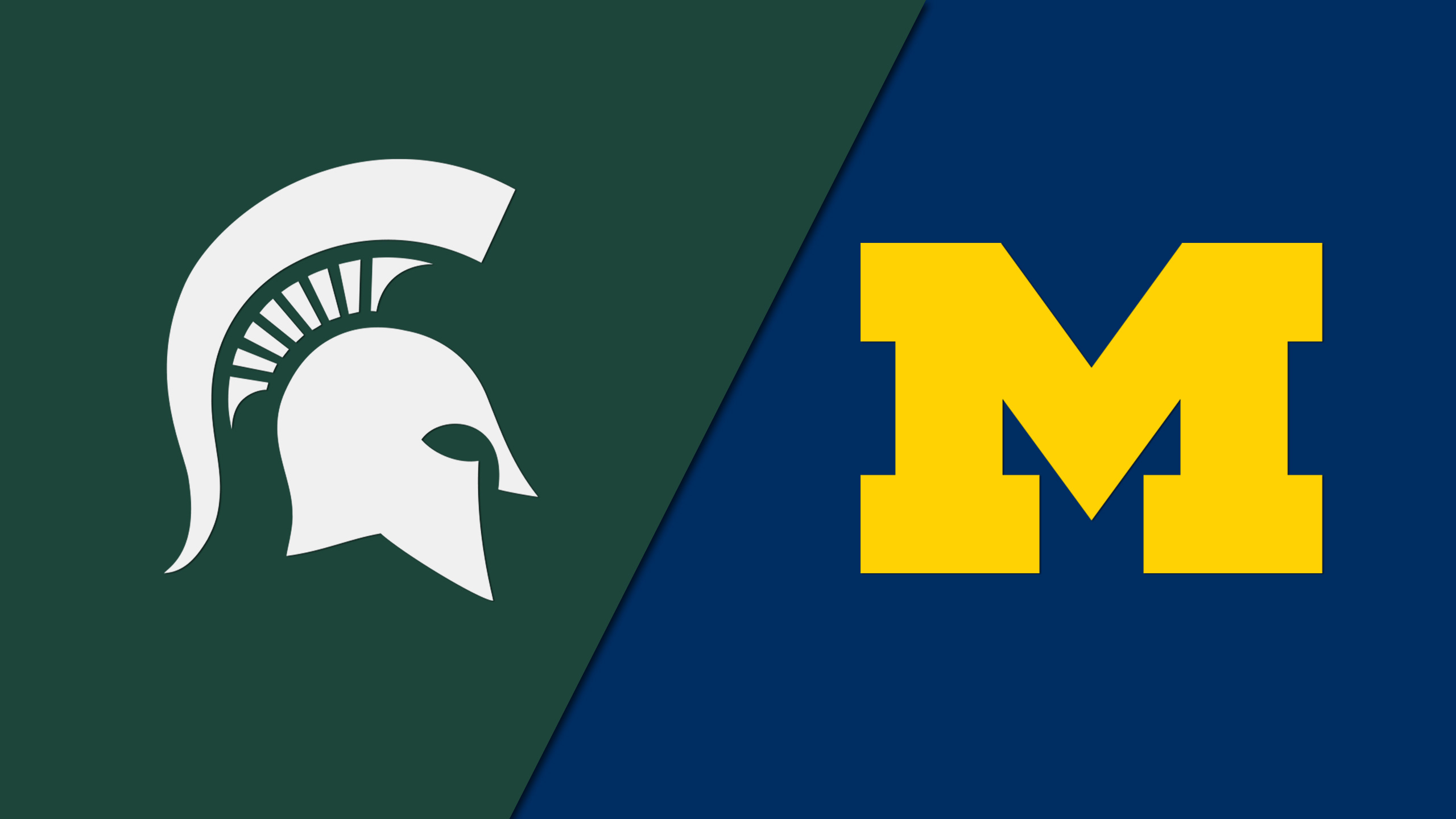 #7 Michigan State vs. #12 Michigan - 10/17/2015 (re-air)