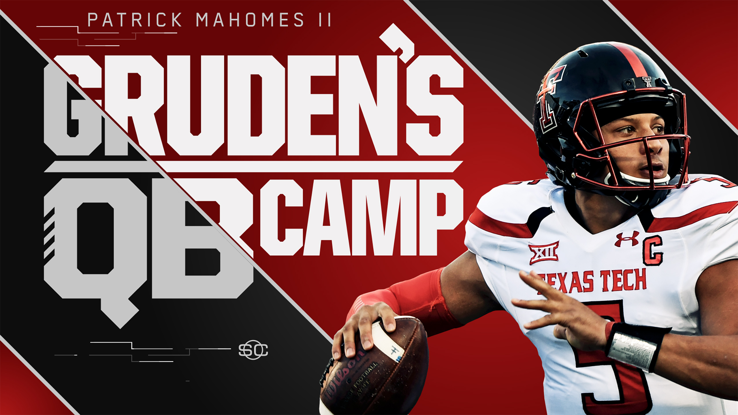 SportsCenter Special: Gruden's QB Camp presented by Maui Jim - Patrick Mahomes