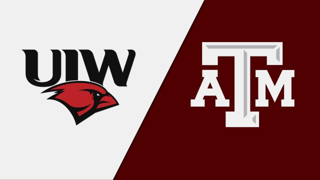 Incarnate Word vs. #21 Texas A&M (Baseball)