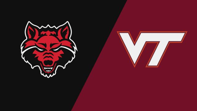 Arkansas State vs. Virginia Tech (W Volleyball)