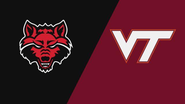 Arkansas State vs. Virginia Tech (W Volleyball)