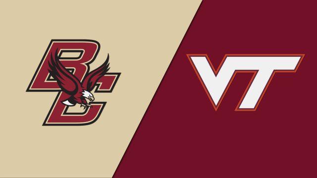 Boston College vs. Virginia Tech (M Soccer)