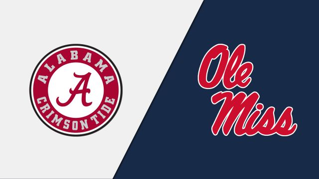 Alabama vs. Ole Miss (M Basketball)