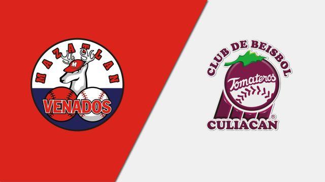 Thu, 1/23 - In Spanish-Venados de Mazatlán vs. Tomateros de Culiacán (Partido #2)