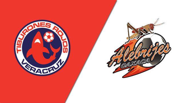 In Spanish-Tiburones Rojos de Veracruz vs. Alebrijes de Oaxaca (Jornada 6) (Copa MX)