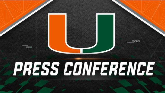 Miami Weekly Football Press Conference