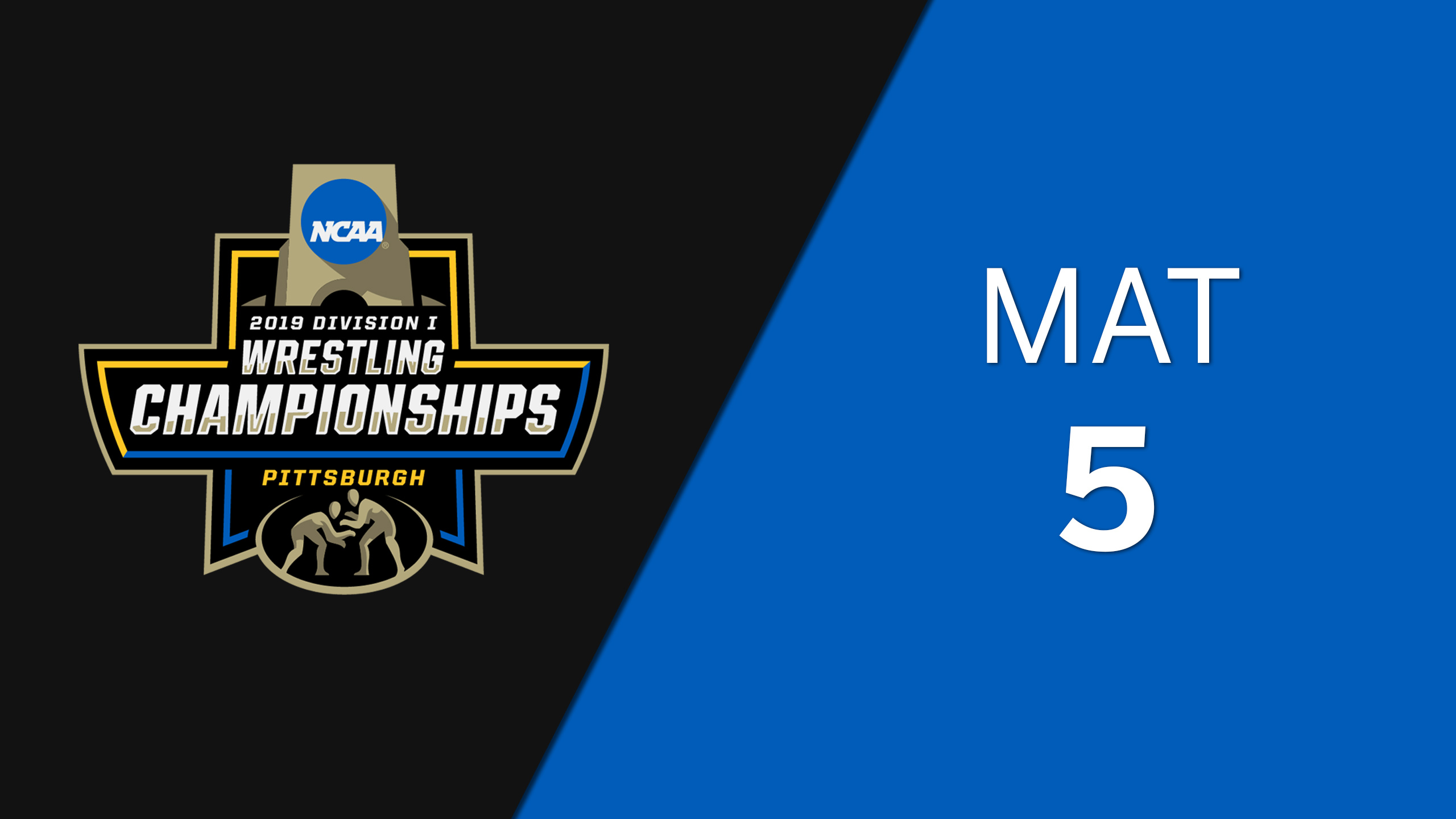 NCAA Wrestling Championship (Mat 5, Semifinals)