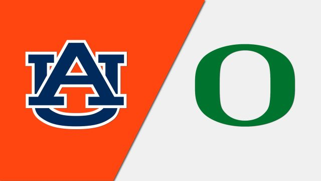 #1 Auburn vs. #2 Oregon (re-air)