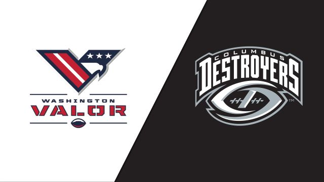 Washington Valor vs. Columbus Destroyers (Arena Football League)
