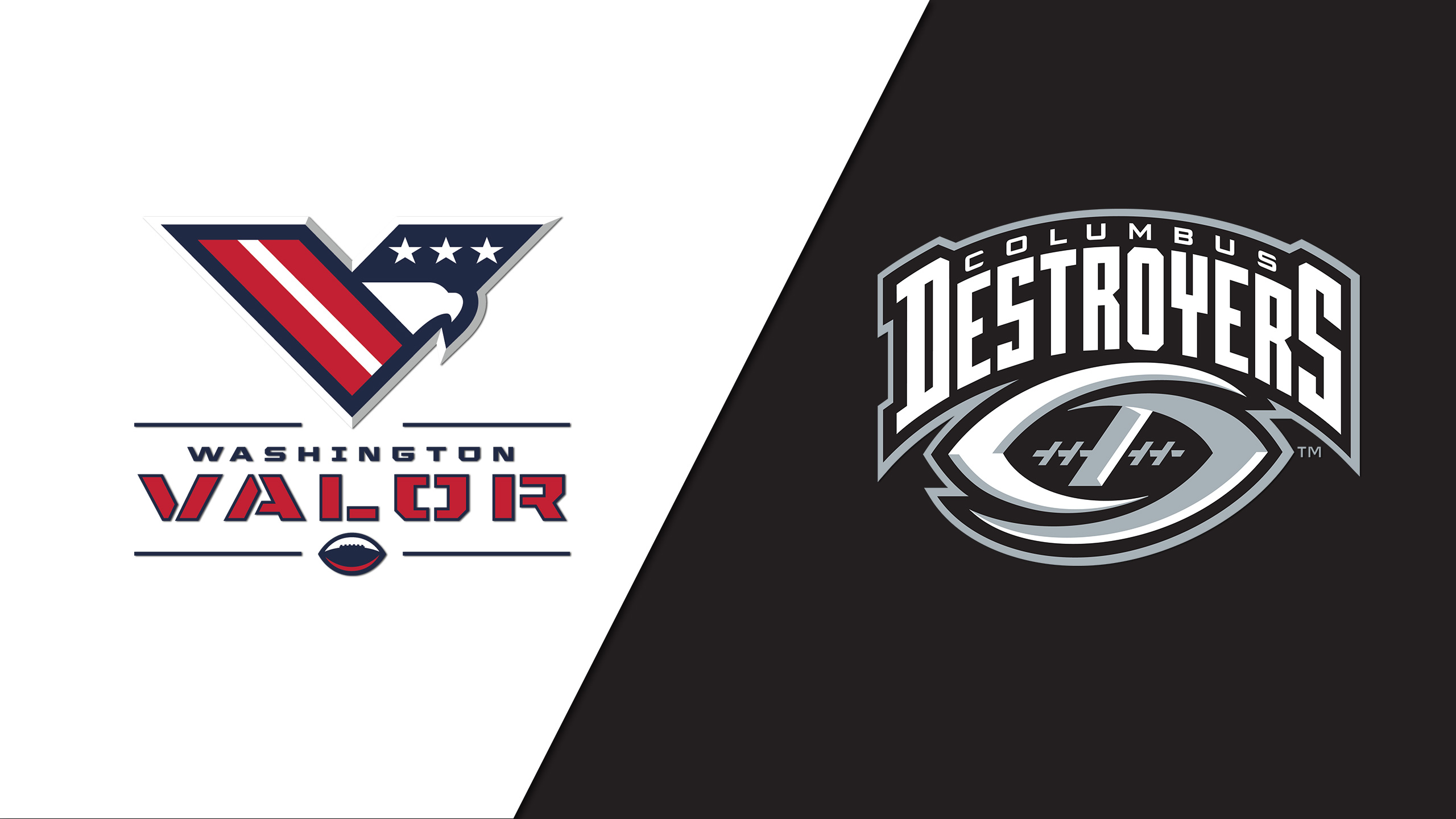 Washington Valor vs. Columbus Destroyers