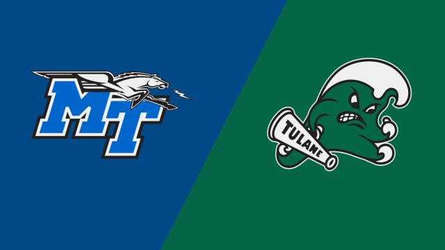 Middle Tennessee vs. Tulane (W Basketball)