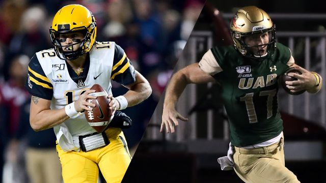 #20 Appalachian State vs. UAB (Bowl Game)