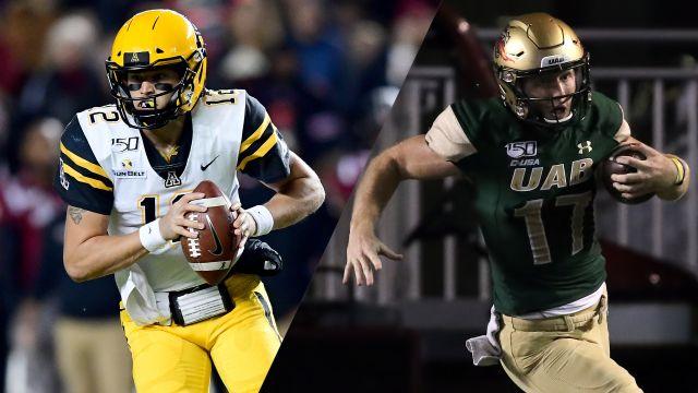 #20 Appalachian State vs. UAB (Bowl Game)