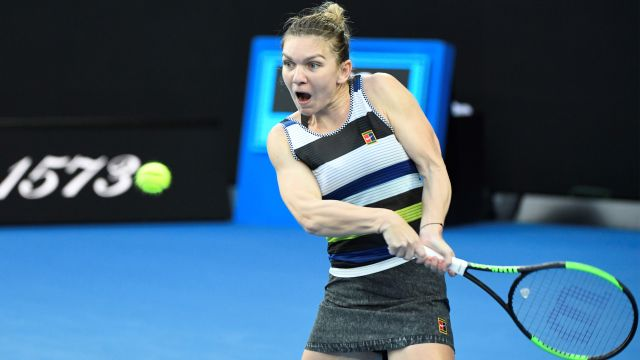 (4) Halep vs. Brady (Women's First Round)
