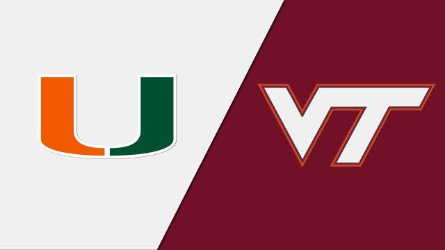 Miami vs. Virginia Tech (W Basketball)