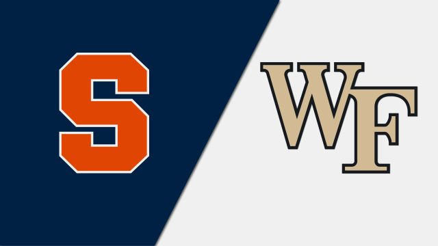 Syracuse vs. #1 Wake Forest (M Soccer)