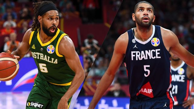Australia vs. France (3rd Place Game)