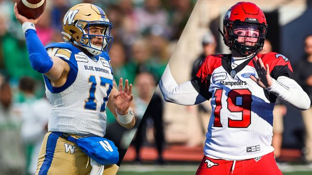 Sun, 11/10 - Winnipeg Blue Bombers vs. Calgary Stampeders (Western Semifinals) (Canadian Football League)