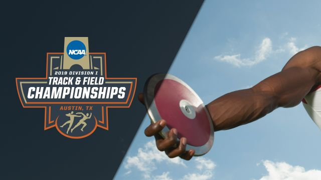 NCAA Outdoor Track & Field Championships - Men's Discus (Feed #1)
