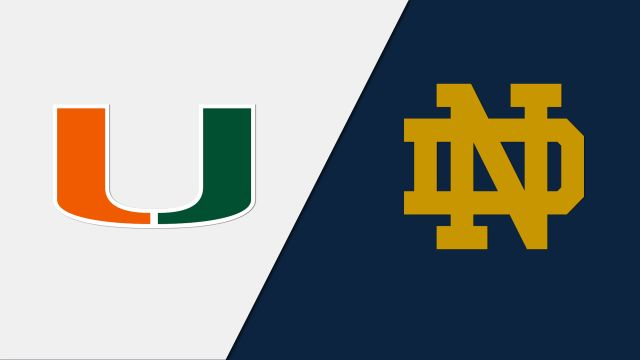 Miami vs. Notre Dame (M Basketball)