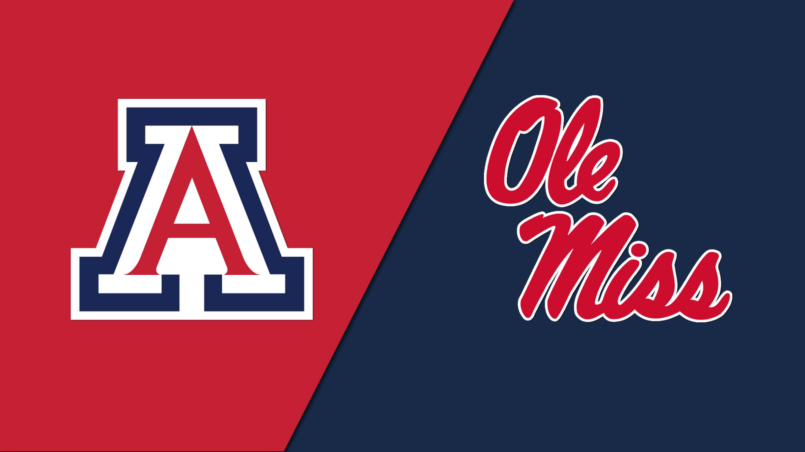 Arizona vs. Ole Miss (Site 6 / Game 2)