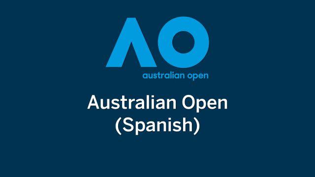 In Spanish - Australian Open Tennis (Primera Ronda)