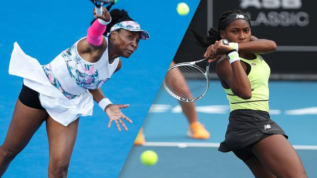 V. Williams vs. Gauff (Women's First Round)
